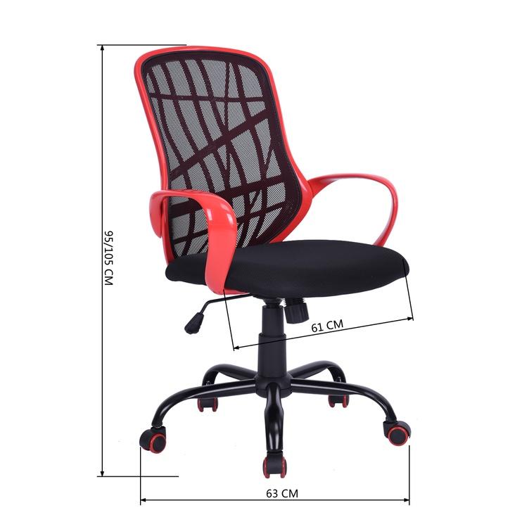 Biroja krēsls Desert WB Black