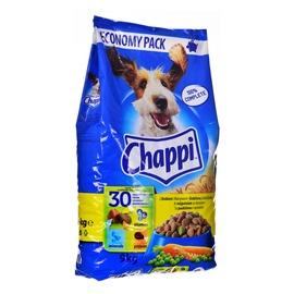 Сухой корм для собак Chappi w/ Poultry, 9 кг