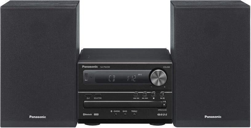 Музыкальный центр Panasonic SC-PM250EG-K, 20 Вт