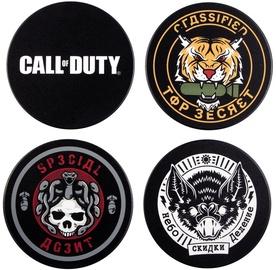 Кухонная подставка Gaya Entertainment Call Of Duty Black Ops Cold War Badge Coaster 4pcs