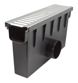 Maxpol Drainage System H98 500mm Grey/Black
