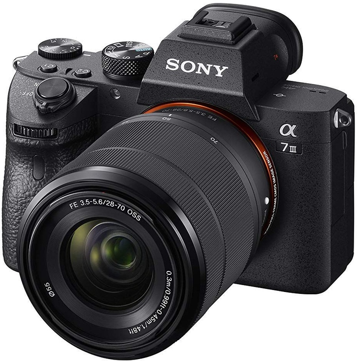 Sony Alpha a7 III Mirrorless Digital Camera ILCE-7M3B + 28-70 mm Zoom Lens
