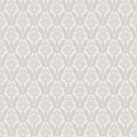 Tapetas flizelino pagrindu, Sintra, 500507 Leonardo, baltas, kreminis, klasikinis