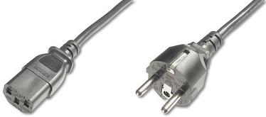 Assmann Cable Schuko/IEC C13 Black 1.8m