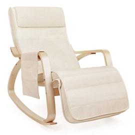 Кресло Songmics Cream, 55x80x91 см