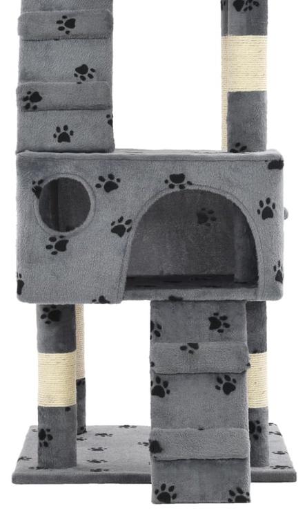 Когтеточка для кота VLX Paw Prints, 500x500x1700 мм