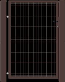 VĀRTI VIENVIRU 960X1500 BRŪNI W4515 (GARDEN CENTER)