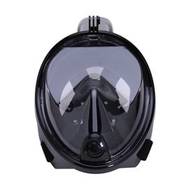 RoGer Full Dry Snorkeling Mask S/M Black