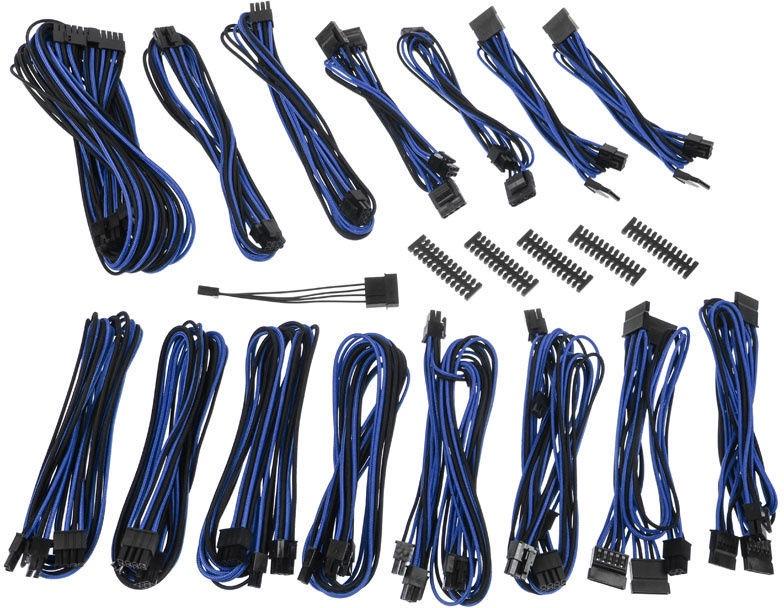 BitFenix Alchemy 2.0 EVG PSU Cable Black/Blue