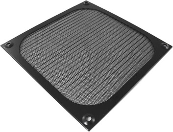 AAB Aluminum Filter/Grill 140mm Black