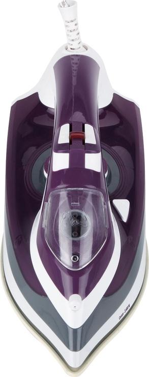 Утюг Jata PL221C, белый/фиолетовый