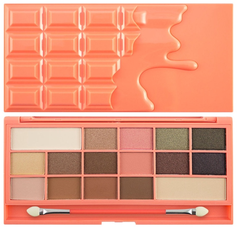 Makeup Revolution London I Love Makeup I Heart Chocolate and Peaches Palette 22g