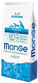 Сухой корм для собак Monge Speciality Line Adult Light Salmon and Rice 12kg