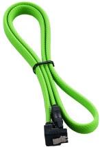 Juhe Cablemod ModMesh Right Angle SATA 3 Cable, roheline, 0.6 m