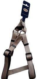 Record Dog Harness Grey S 2x41/66cm