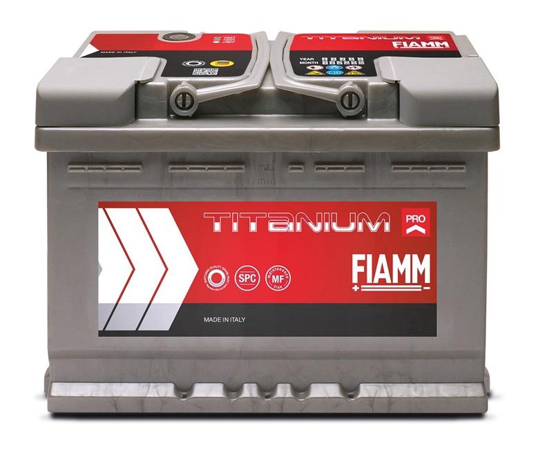 Akumuliatorius Fiamm L3 74P, 74 Ah, 680 A, 12 V