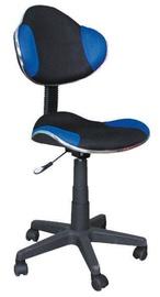 Biroja krēsls Signal Meble Q-G2 Blue/Black