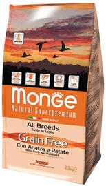 Monge Grain Free Adult with Duck and Potatoes 2.5kg