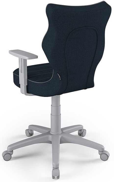 Entelo Office Chair Duo Grey/Navy Blue Size 6 TW24
