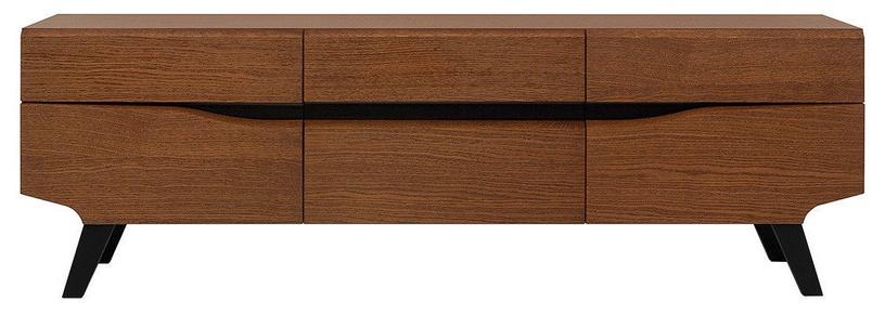 TV galds Black Red White Madison, brūna/ozola, 1620x420x530 mm