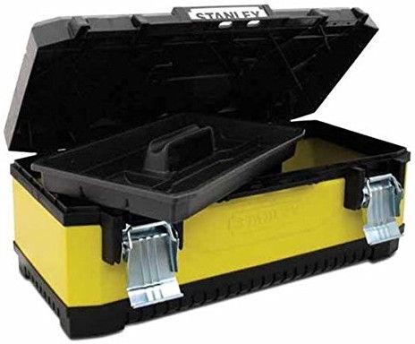 "Stanley Metal-Plastic Tool Box 20"""