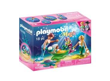 Konstruktorius Playmobil magic 70100 šeima