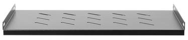 Netrack equipment shelf 19'' 1U/300mm Black