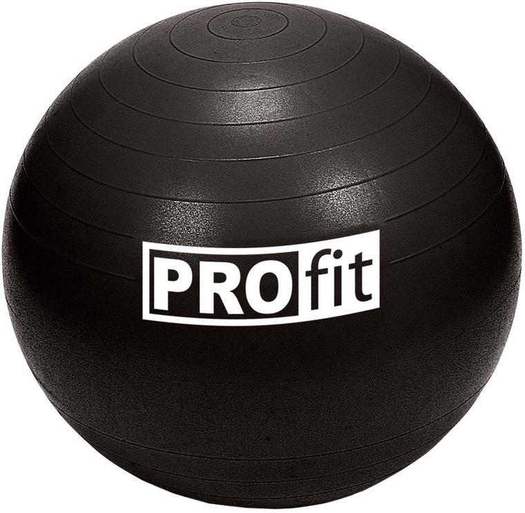 ProFit Gym Ball 45cm Black with Pump