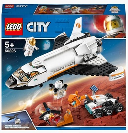 Конструктор LEGO City Шаттл для исследований Марса 60226, 273 шт.