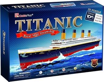 3D mīkla Cubicfun Titanic T4011H, 113 gab.