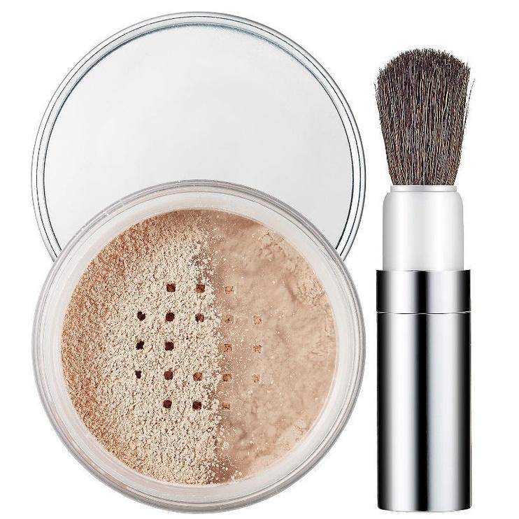 Biri pudra Clinique Blended Face Powder & Brush 08, 35 g