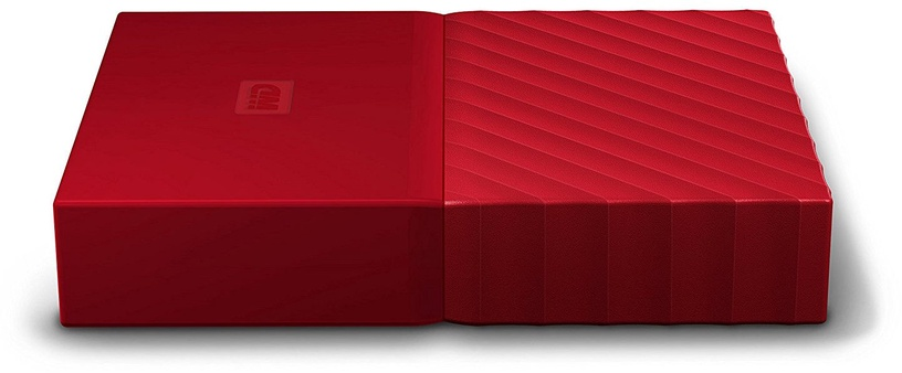 Western Digital 4TB My Passport USB 3.0 Red WDBYFT0040BRD-WESN