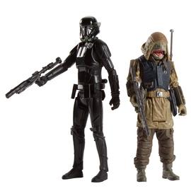 Hasbro Rogue One Imperial Death Trooper & Rebel Commando Pao B7259