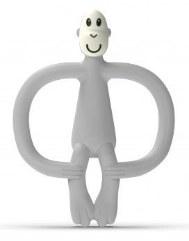 Matchstick Monkey Teether Monkey 3m+ Cool Grey