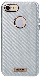 Remax Carbon Surface Desig Back Case For Apple iPhone 7 Silver