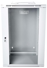 "Digitus Double Section Wallmount Cabinet 19"" 12U/600mm Gray"