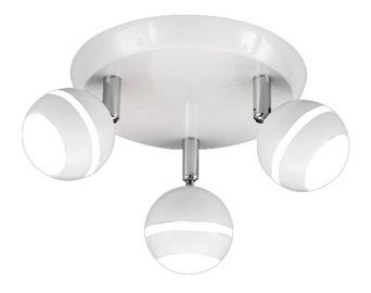 Griestu lampa Trio Plump Led 3.8W 3x350LM B