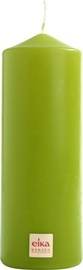 Eika Pillar Candle 16x6cm Green