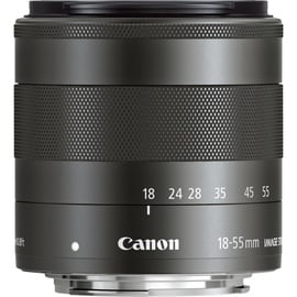 Canon EF-M 18-55mm f/3.5-5.6 IS STM Black Expo White Box