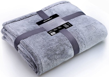 DecoKing Fluff Blanket Charcoal 220x240cm