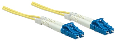 Intellinet LC-LC Fiber Optic Patch Cable OM-2 Yellow 2m