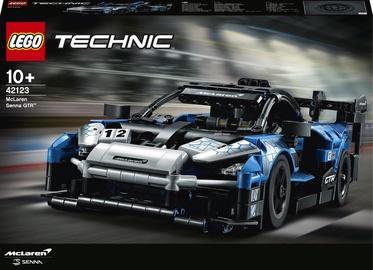 Конструктор LEGO Technic McLaren Senna GTR™ 42123, 830 шт.
