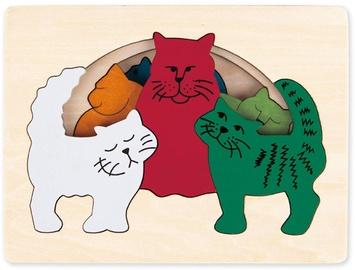 Koka puzle Hape Cats E6511A