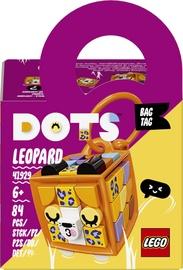 Konstruktors LEGO DOTS Somas piekariņš-leopards 41929, 84 gab.