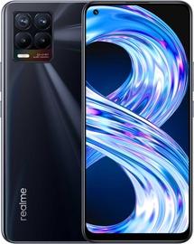 Мобильный телефон Realme Realme 8, черный (поврежденная упаковка)
