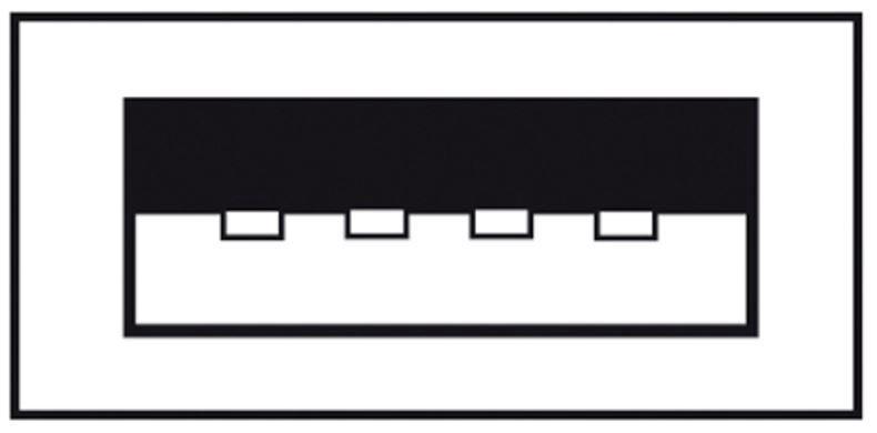 Assmann Cable USB 2.0 / USB Black 3m
