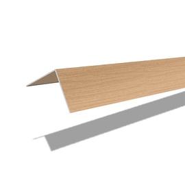 PVC līste C40/233 40x40x2700mm, gaišs dižskabārdis