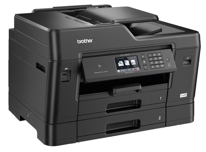 Многофункциональный принтер Brother MFC-J3930DW, струйный, цветной