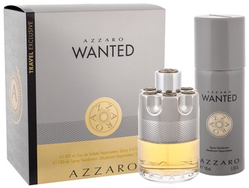 Azzaro Wanted 100ml EDT + 150ml Deodorant Spray