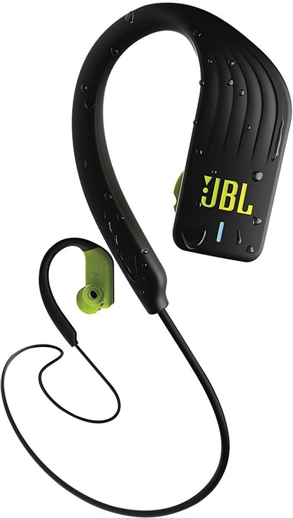 Belaidės ausinės JBL Enudurance Sprint Black/Yellow